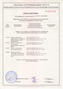 Приложение Сертификат Ремонт, установка и ТО